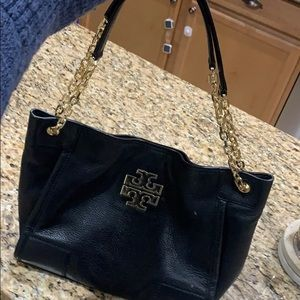 Tory Burch small Britten slouchy tote